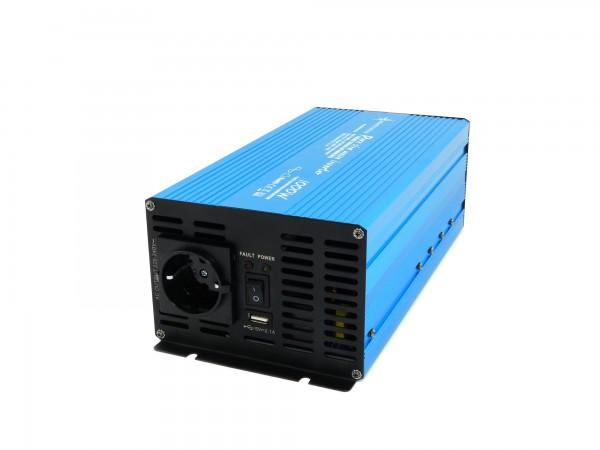 Spannungswandler TS 12V 1000 Watt reiner SINUS