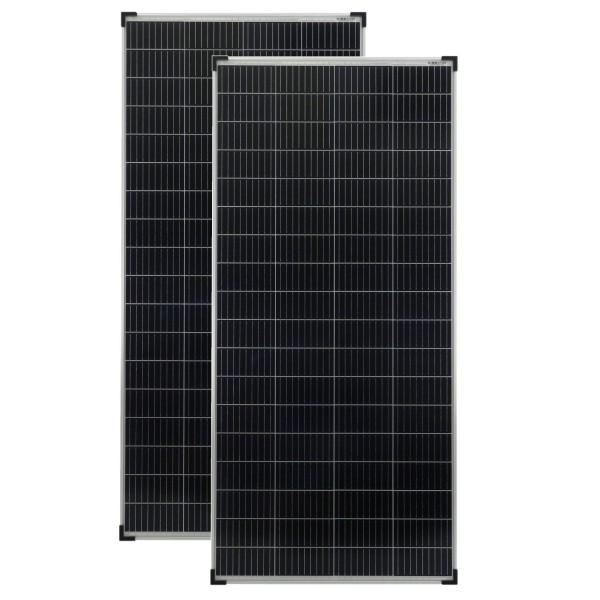 Solarmodule 2 Stück 180 Watt 36V Mono Solarpanele Solarzellen 1510x670x35