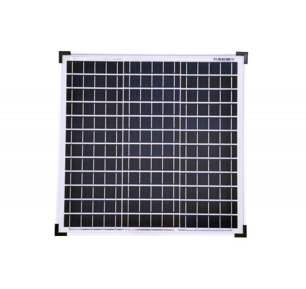 Solarmodul 30 Watt Poly Solarpanel Solarzelle 520x510x25 90578