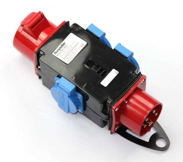 Baustromverteiler 16A 3x 230V 1 x 400 V