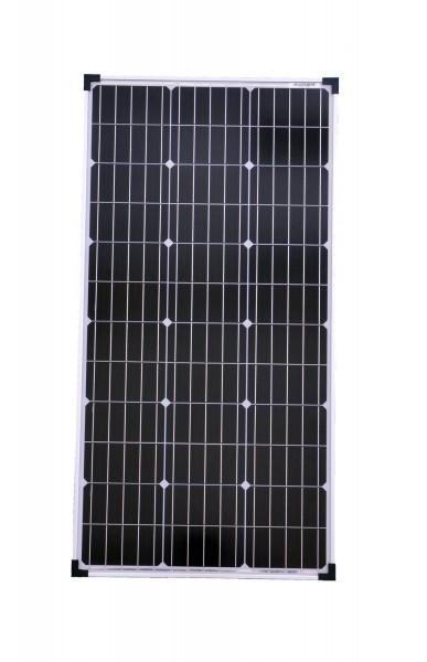 Solarmodul 80 Watt Mono Solarpanel Solarzelle 1000x510x30 90608