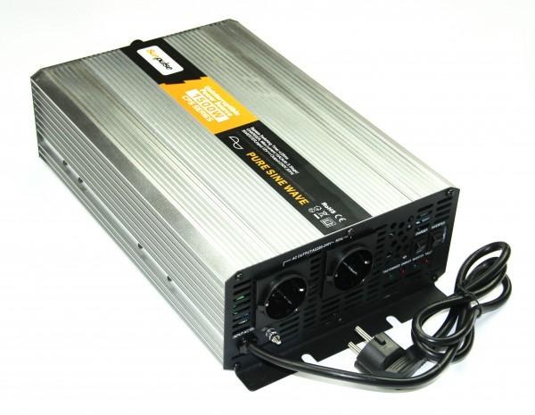 Spannungswandler USV 12V 1500/3000 Watt reiner SINUS