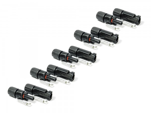 Stecker / 5 Paar kompatibel zu MC4