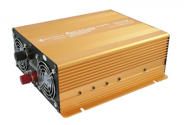 Spannungswandler 12V 2000/4000 Watt Power USB 2.1A reiner SINUS Gold Edition