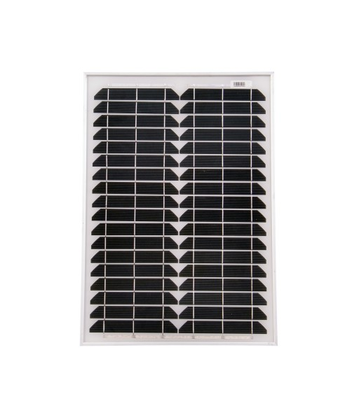 Solarmodul 20 Watt Mono Solarpanel Solarzelle 500x350x25 90547