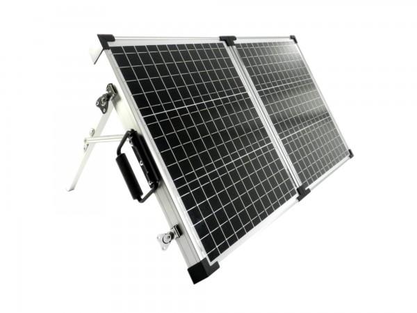Solarkoffer Mobil 60 Watt Mono Solarpanel PWM Laderegler 765mmx520mmx30mm