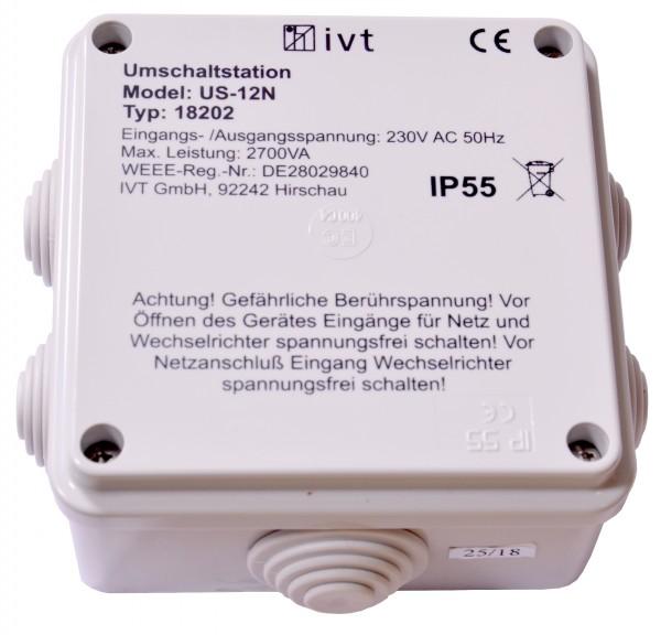 Umschaltstation IVT US-12N 230V 12A NEU OVP