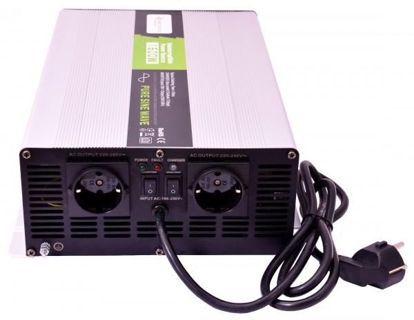 Spannungswandler USV 24V NPS 1500 Watt reiner SINUS UPS Inverter
