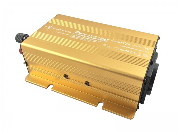 Spannungswandler 12V 300/600 Watt Power USB 2.1A reiner SINUS Gold Edition