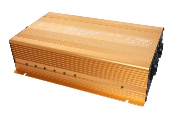 Spannungswandler 12V 2500/5000 Watt reiner SINUS Gold Edition