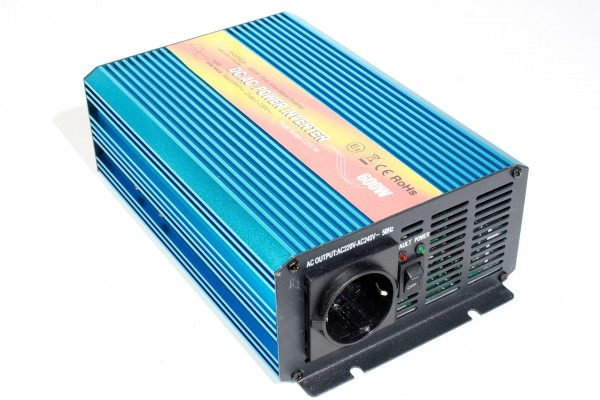 Spannungswandler TS 24V 600 Watt reiner SINUS