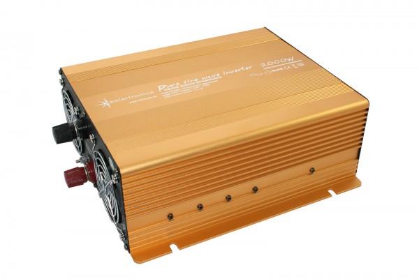 Spannungswandler NP 24V 2000 Watt Power USB 2.1A reiner SINUS Gold Edition