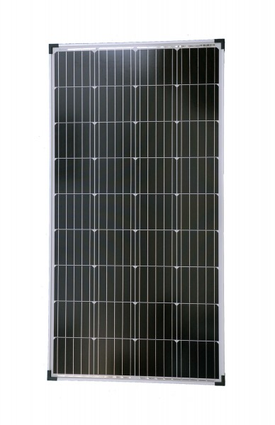 Solarmodul 130 Watt 1290x674x35mm 10,9kg Monokristallin Solarpanel Solarzelle