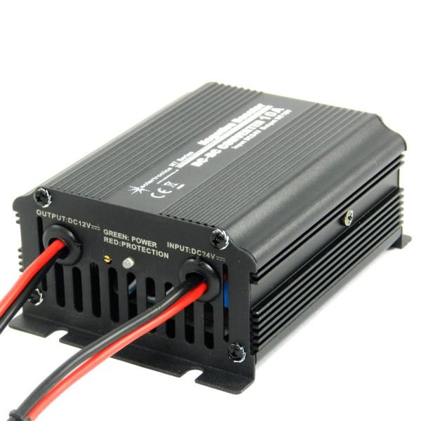 Spannungswandler 24V DC auf 12V DC 10A 120W Negative Booster Konverter