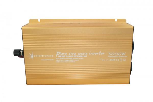 Spannungswandler 24V 3000/6000 Watt reiner SINUS Gold Edition