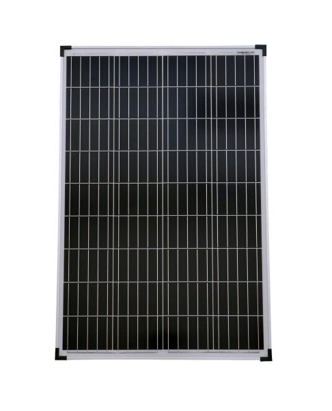 Solarmodul 100 Watt Poly Solarpanel Solarzelle 1020x670x30 90639