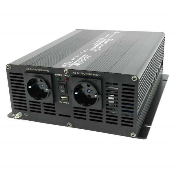 Spannungswandler NM 24V 2000 Watt