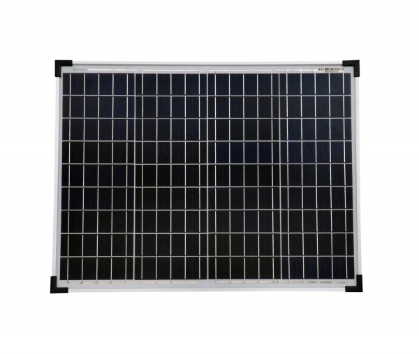 Solarmodul 50 Watt Poly Solarpanel Solarzelle 668x508x35 92381