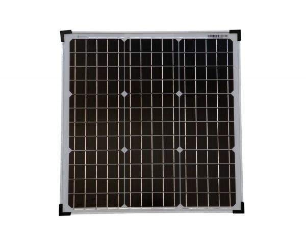 Solarmodul 40 Watt Mono Solarpanel Solarzelle 530x520x25 91629