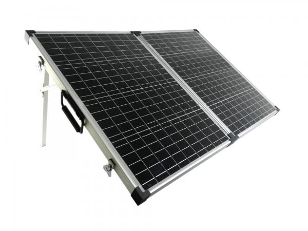 Solarkoffer Mobil 100 Watt Mono Solarpanel PWM Laderegler 1085mmx670mmx30mm