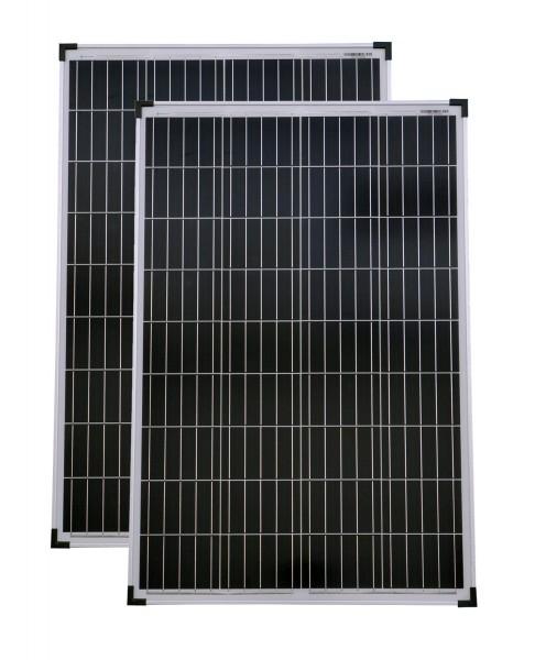 Solarset 12V / 24V 200 Watt poly + Solarladeregler 15 A