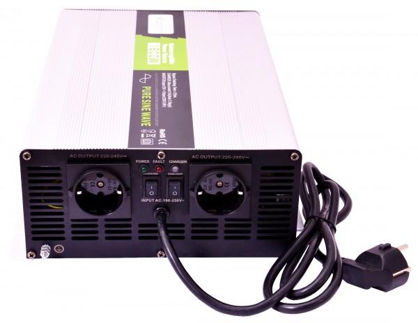 Spannungswandler USV 12V NPS 1500/3000 Watt reiner SINUS UPS Inverter