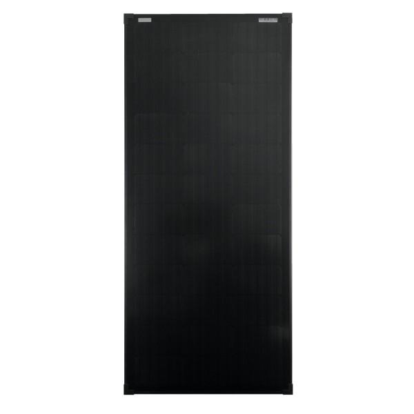 Solarmodul 100 Watt schwarz Mono Solarpanel Solarzelle 1200x545x30 93043