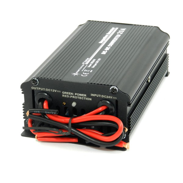 Spannungswandler 24V DC auf 12V DC 20A 240W Negative Booster Konverter