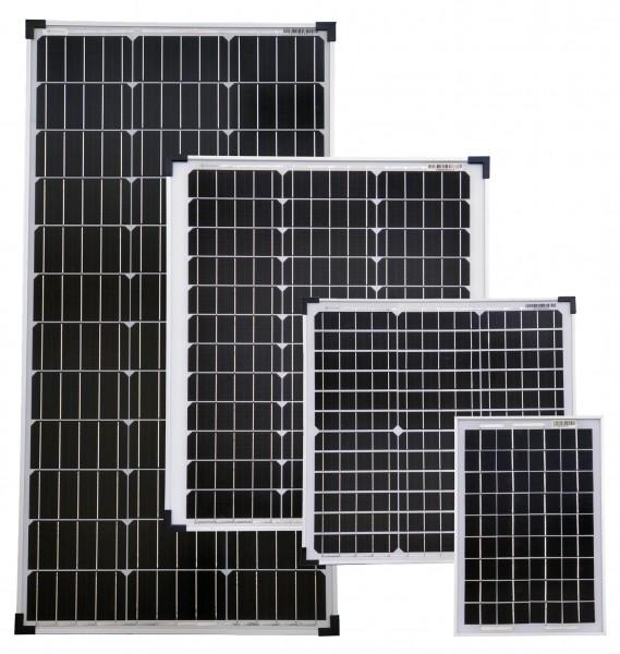 Solarmodule Monokristallin Photovoltaik TÜV geprüft in verschiedenen Größen