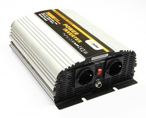 Spannungswandler NS 12V 2000 Watt