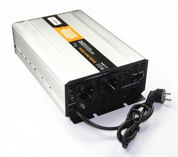 Spannungswandler USV 24V 1500/3000 Watt reiner SINUS