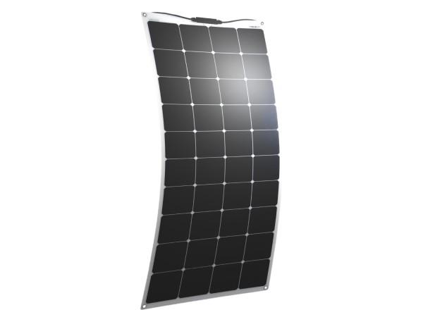 Solarmodul 130 Watt flexibel Mono Solarpanel Solarzelle 1330x540x2
