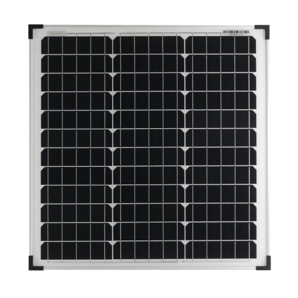 Solarmodul 40 Watt Mono Solarpanel Solarzelle 540x530x25 - ohne Anschlussleitung