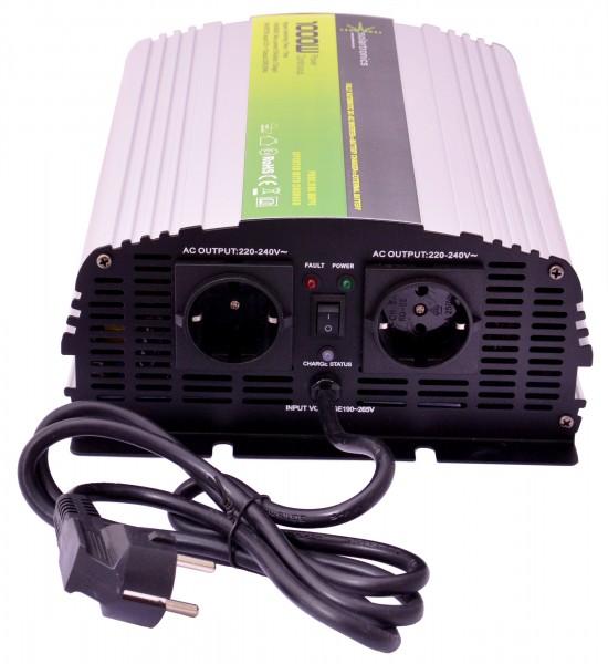 Spannungswandler USV 12V NPS 1000/2000 Watt reiner SINUS UPS Inverter