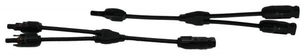 MC4 Stecker Y Kabel 2 fach Verteiler Solarstecker