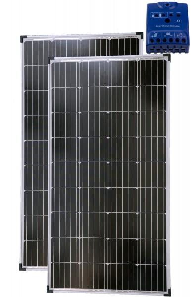 Solarset 24V 260 Watt + 24V Laderegler 15A mono
