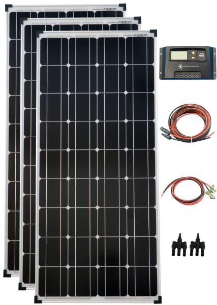 300Watt 12Volt Solar Set Solaranlage Inselanlage Garten Camping Solarmodul