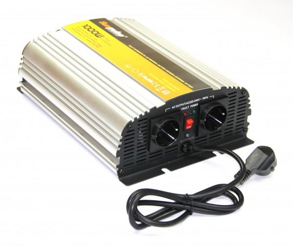 Spannungswandler USV 12V 1000/2000 Watt reiner SINUS