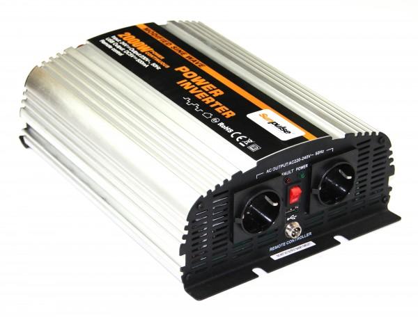 Spannungswandler MS 24V 2000/4000 Watt