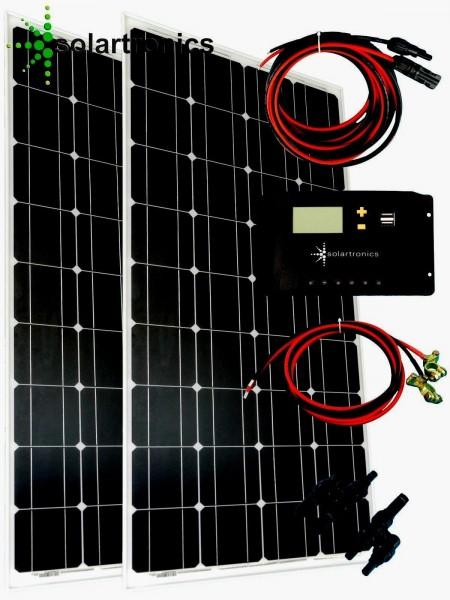 Solaranlage 200 Watt 12V