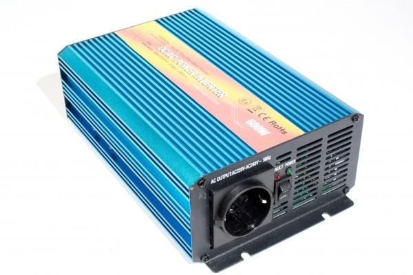 Spannungswandler 24V 600/1200 Watt reiner SINUS