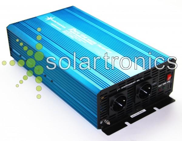 Spannungswandler TS 12V 3000 Watt reiner SINUS