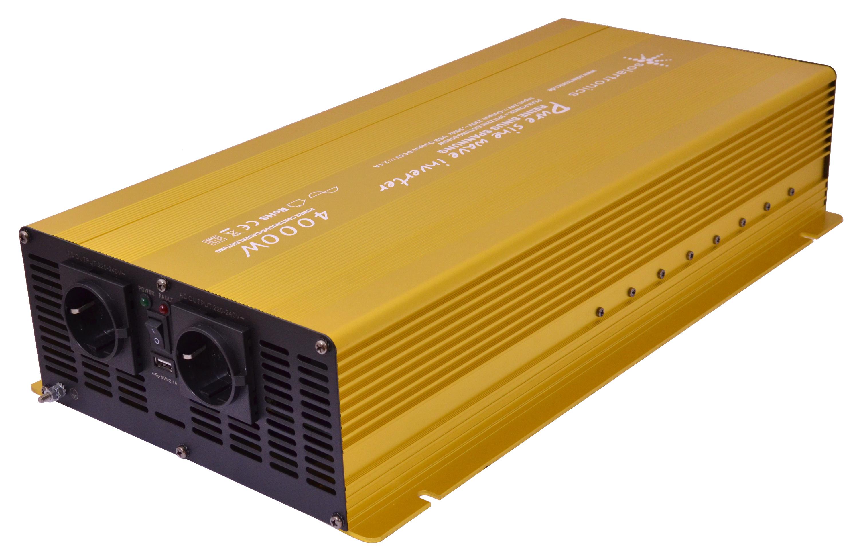 Spannungswandler Inverter 24V 4000//8000 Watt incl Kabelfernbedienung Neu