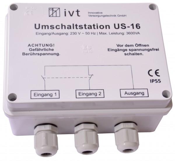 Umschaltstation IVT US-16 230V 16A NEU OVP