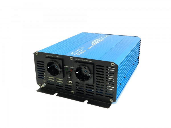 Spannungswandler TS 12V 1500 Watt reiner SINUS