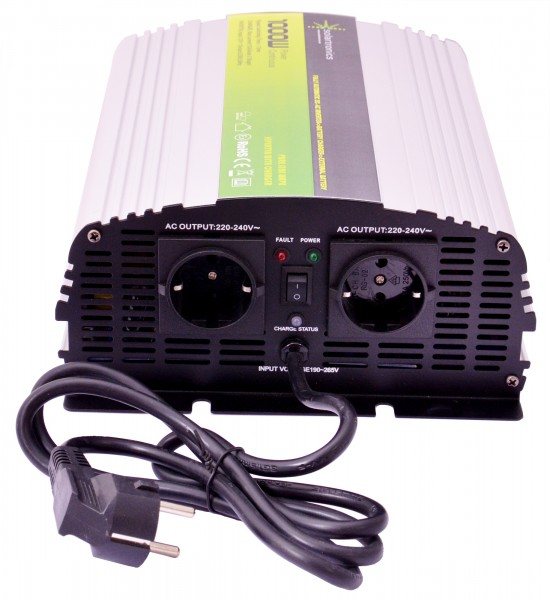Spannungswandler USV 24V NPS 1000/2000 Watt reiner SINUS UPS Inverter