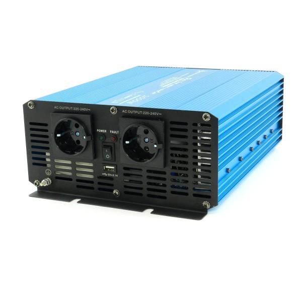 Spannungswandler TS 12V 2000 Watt reiner SINUS
