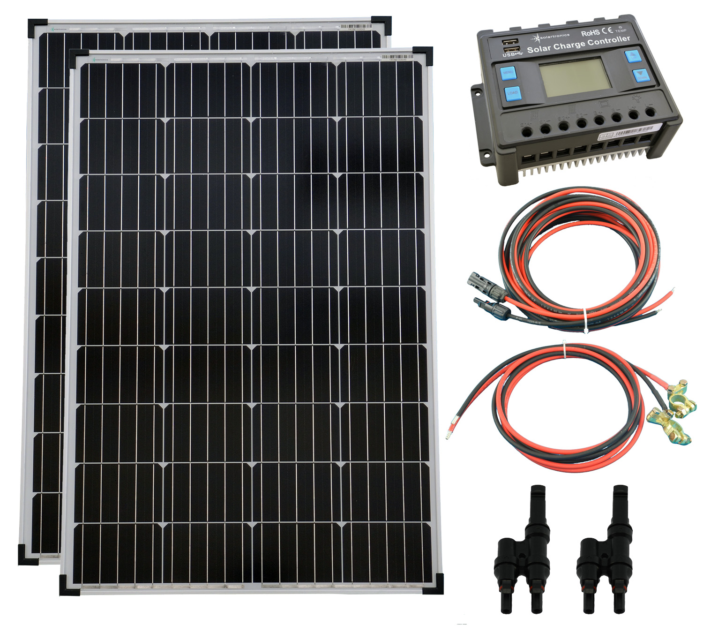 20A Laderegler 12V//24V Solarmodul Solarpanel Solarladeregler