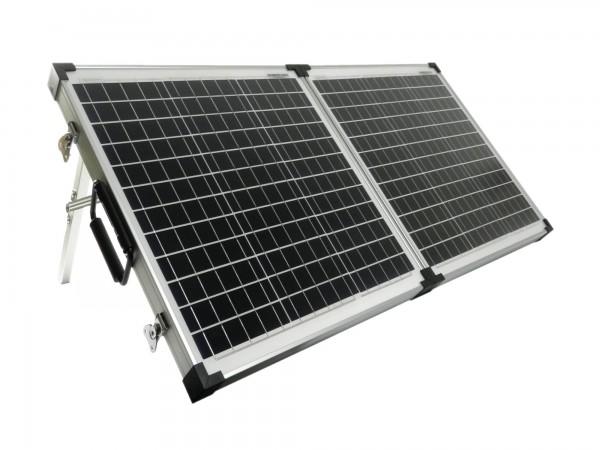 Solarkoffer Mobil 80 Watt Mono Solarpanel PWM Laderegler 1045mmx530mmx30mm