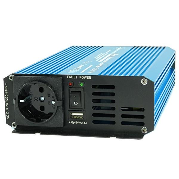 Spannungswandler TS 24V 300 Watt reiner SINUS